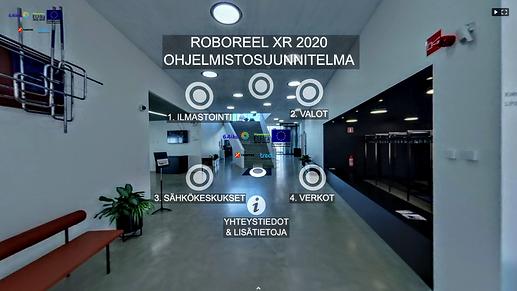 Kuvakaappaus Roboreel XR ohjelmistosuunnitelmasta