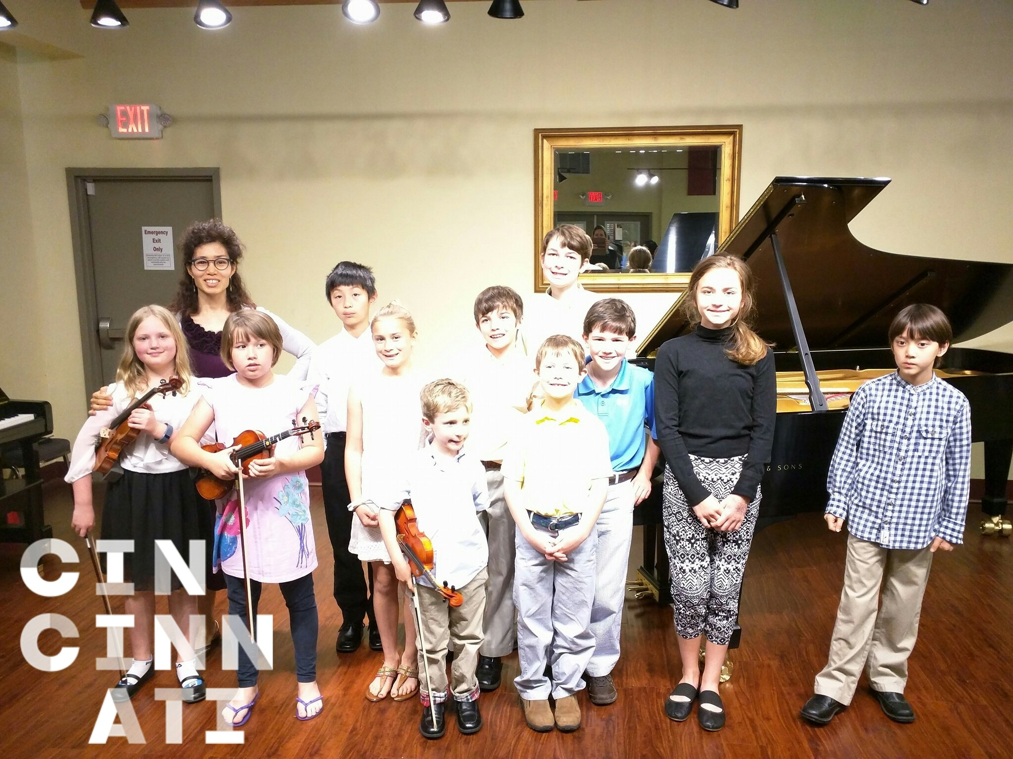 pianoviolin recital at Willis 2016