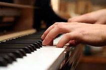 Pianist Hands on Keyboard