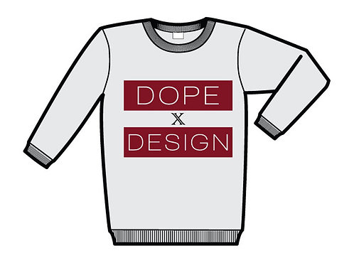 Dope by Design White Sweatshirt