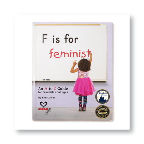 F is for Feminist, Book Cover