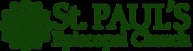 st.pauls.logo dark green no burl.png