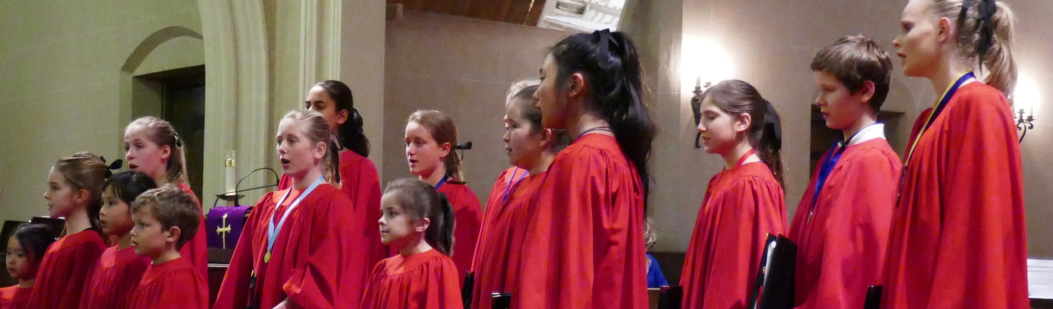 CHOIR SCHOOL CROP