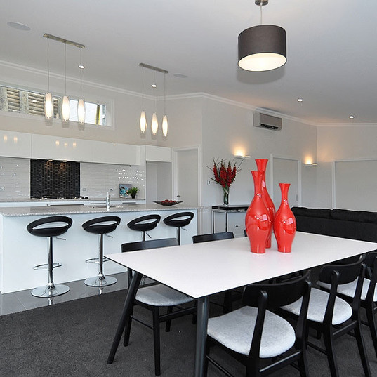 Cashmere Kitchen and Living