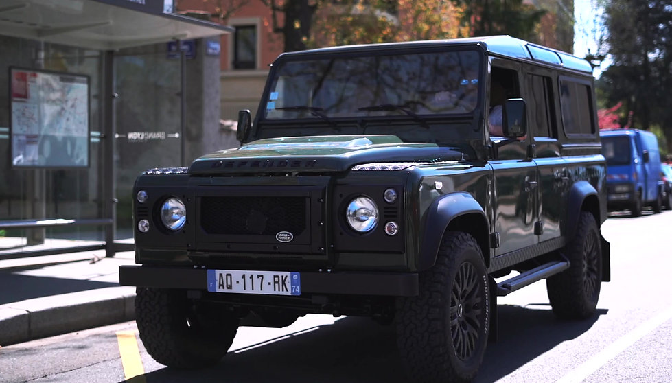 DEFENDER 110 ARMY GREEN