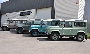 Locaux de Gt Gallery, préparateur de Land Rover Defender à Lyon