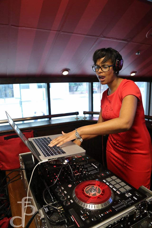 Rep. Cephas DJing