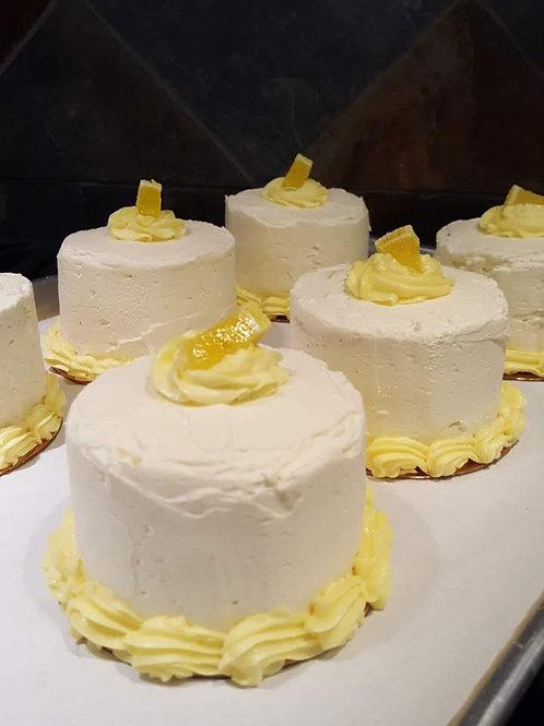 Lemon Raspberry Cakes