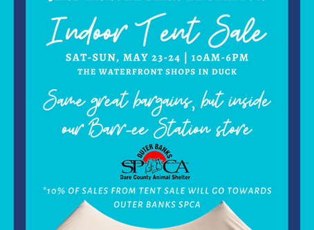 32nd Annual Barr-ee Tent Sale