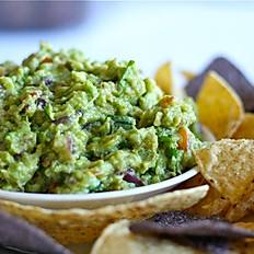 Grilled guacamole & chips