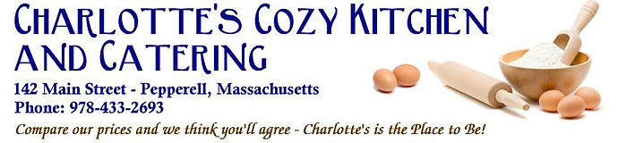 Charlotte's Cozy Kitchen & Catering, Pepperell, MA | Rail Trail Ice Cream