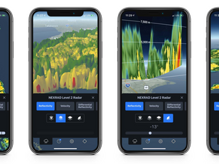 Phone Applications Changing the Weather Visualization Game