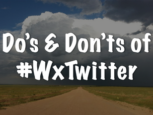 The Do's and Dont's of Weather Twitter
