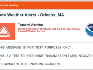 Following an Erroneous Tsunami Warning the Weather Enterprise Needs To Do Better