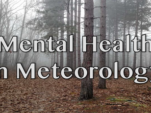 Mental Health in Meteorology - Part 1