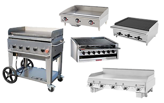 GRILLS, GRIDDLES AND CHARBROILERS COMMER