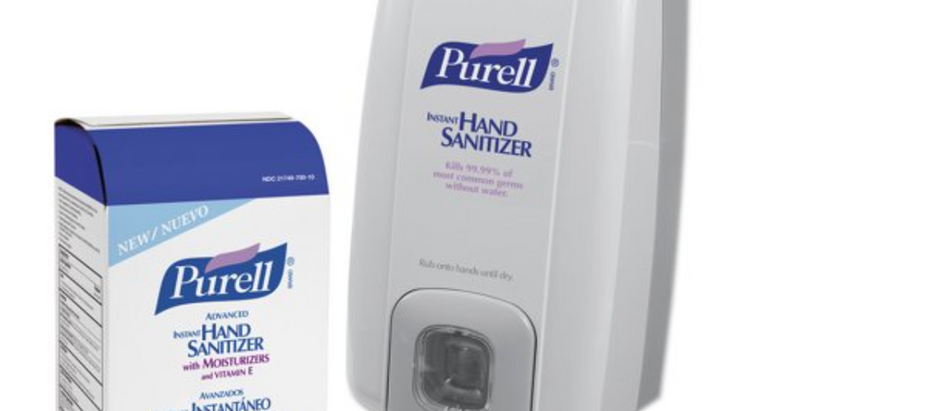 DID YOU KNOW? Refilling sanitizer dispensers is fast, easy and economical.