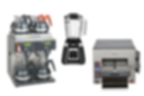 COMMERCIAL COFFEE MAKER - TOASTER - BLEN