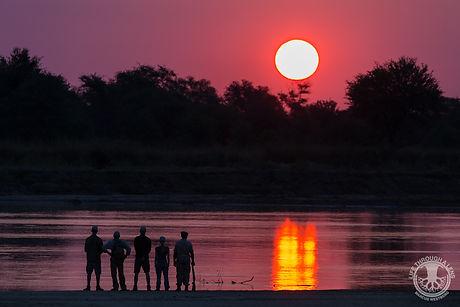 Luambe Camp Walking Safari Sunset.jpg