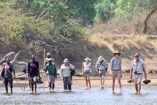Zambia walking safaris Ntanda Ventures