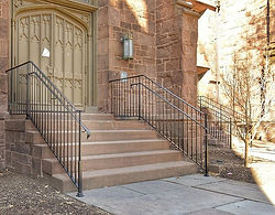 Dwight Hall - Yale. 4 Railings to match