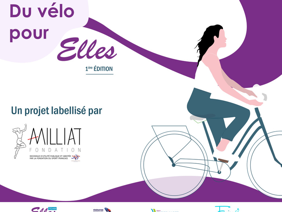 """""""Du vélo pour ELLES"""" labellisé """"Alice Milliat"""""""