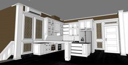 DRY KITCHEN - 3D ILLUSTRATION