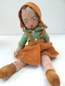 Doll with measles