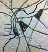 1930's Cambridge laundries map