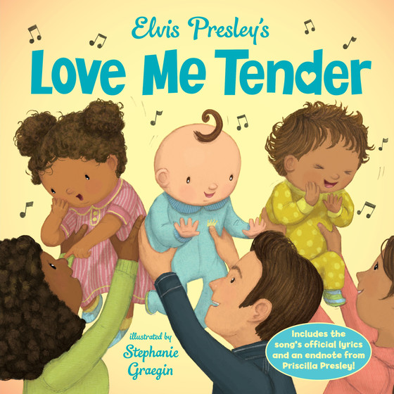 Elvis Presley's Love Me Tender children's book