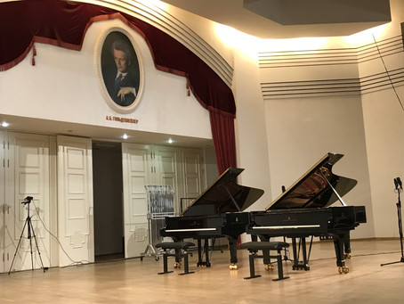 モスクワ中央音楽学校 国際マスタークラス