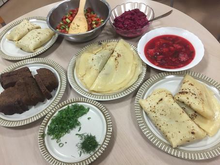 Русская кухня!