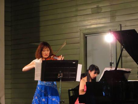 時計台コンサート~美しき白夜の風景~