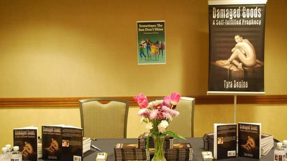 Women's Empowerment Conference Book Set-Up, Champaign Illinois