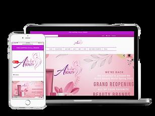 E-Commerce - Aloire Beauty Supply Store