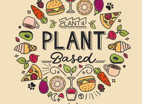 Plant Based at Plant 4 | Saturday 28 Sept