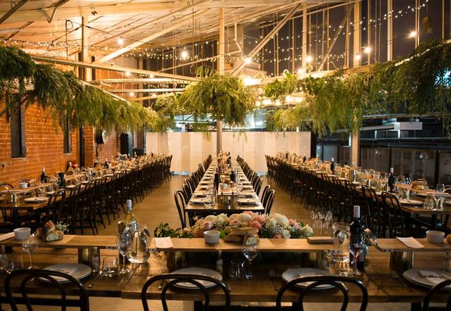 East Mezzanine Sit Down Dinner