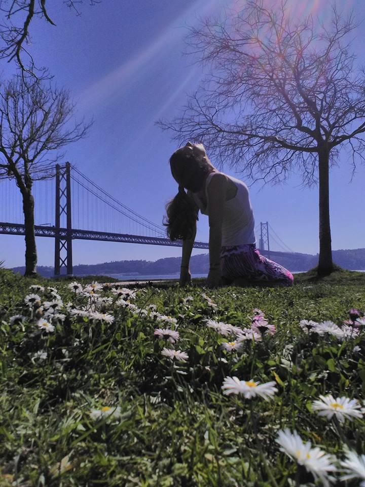 Primavera; Yoga; Saudação ao Sol; Rita Cachaço; Natureza; Recomeçar; Novo Ciclo