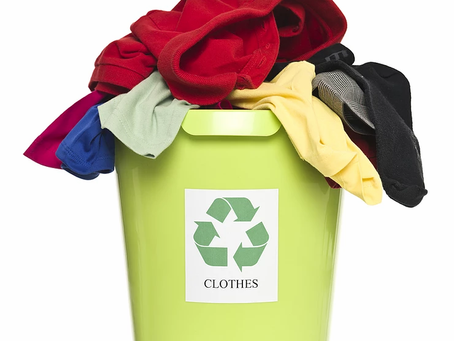 A minha regra da reciclagem da roupa