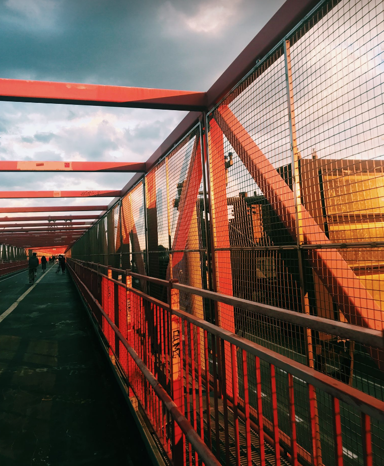 Golden Hour on the Williamsburg Bridge