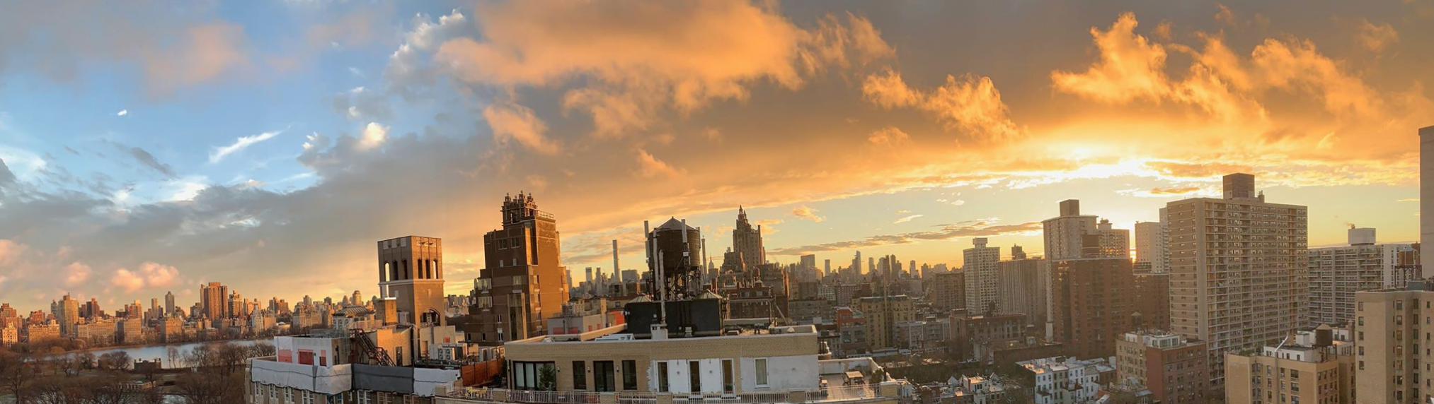 An Upper West Side Sunset