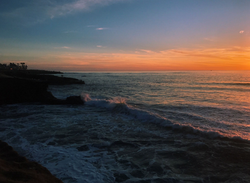 Orange Juice Sky in San Diego