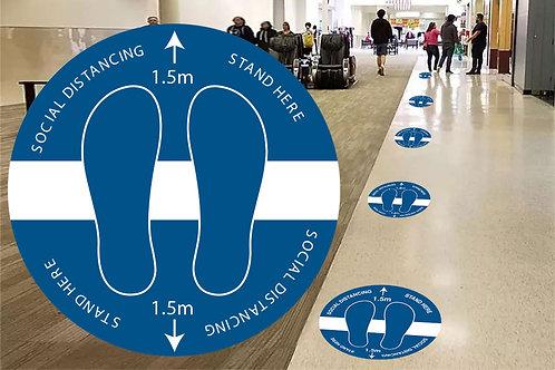 Anti-Slip Floor Decal (10 Pack) Design3