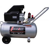 SILVERLINE compresor-de-aire-lubricado-d