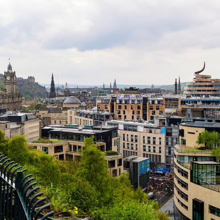 Edinburgh's New Skyline is Revealed as the Final Crane Comes Down at St James Quarter