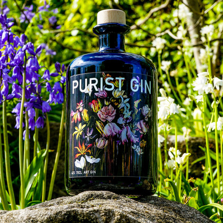 Scottish Gin Brand Purist Launches Latest Artist-Designed Bottle