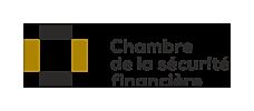 Logo de la Chambre de la sécurite financière.
