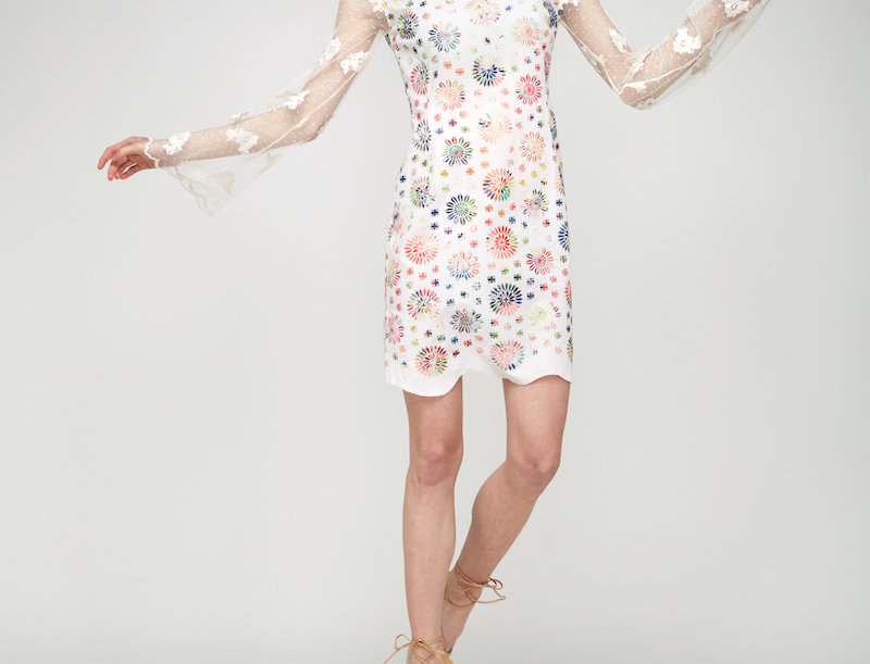 Langärmel Kleid Dahlia
