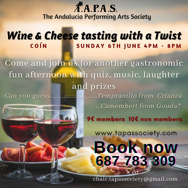 Wine & Cheese tasting with a twist 2021.