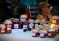 Home made jams and chutneys made by Tapas members